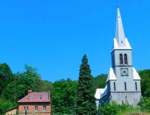 Travná kostel....