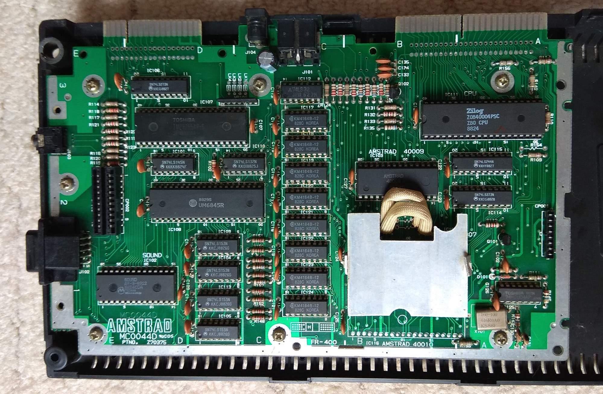 CPC 464 board MilasPce