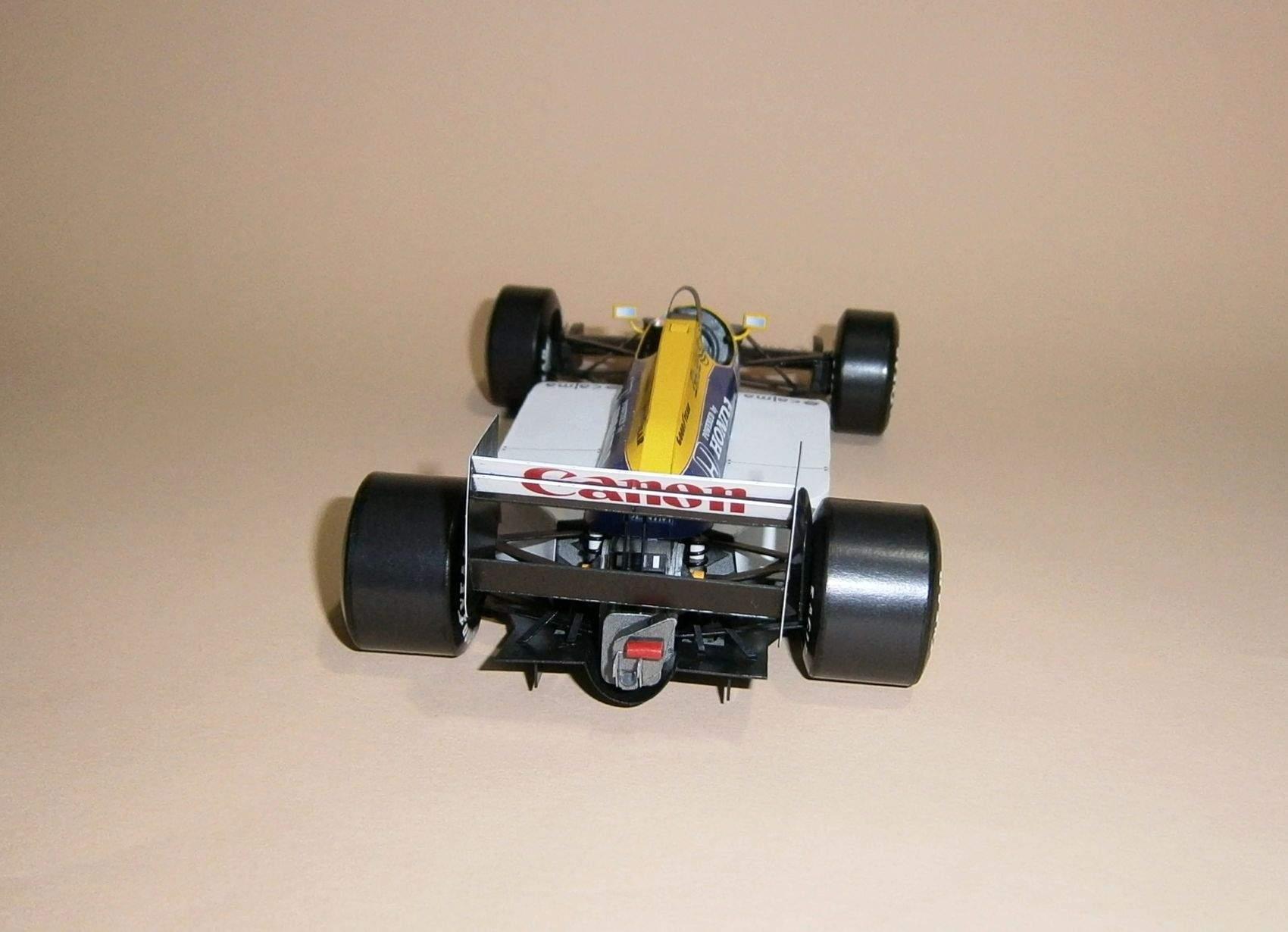 Williams FW11 - N.Mansell, GP Belgie 1986