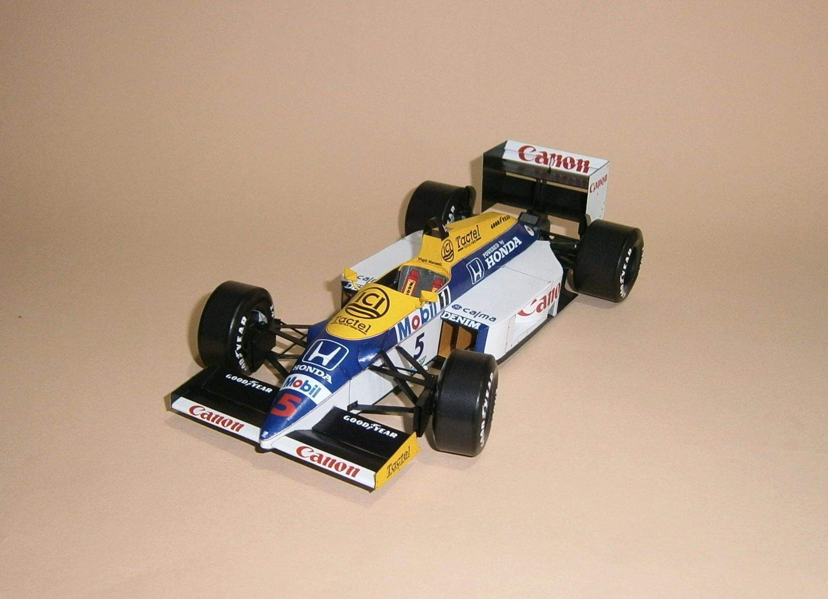 Williams FW11 - N.Mansell, GP Belgie 1986