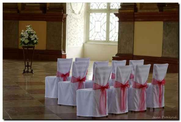 Často se tady ale odehrávají svatební obřady.