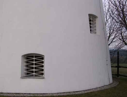 Lazničky - větrný mlýn