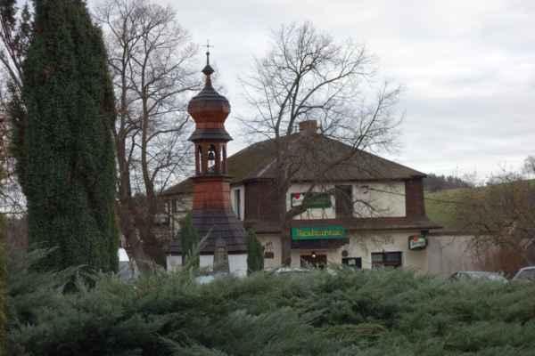 Dneska byla v plánu další část Posázavské stezky. Začátek byl v Třebsíně.