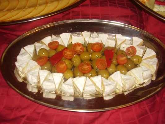 Sýrovo - olivová mísa